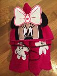 Miss Mouse Hooded Towel