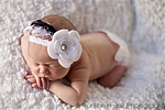 Black and White Vintage Lace Headband