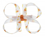 Candy Corn Baby Hair Bows