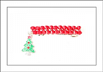 Christmas Tree Swarovski Crystal Hair Barrette