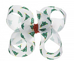 Christmas Tree Toddler Girl Hair Bows