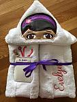 Girl Doctor Hooded Towel