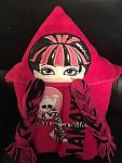 Draculady Hooded Towel