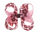 Floral Toddler Girl Hair Bows