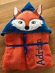 Fox Hooded Towel