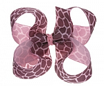 Giraffe Toddler Girl Hair Bows