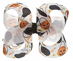 Halloween Treat Bags Toddler Girl Hair Bows