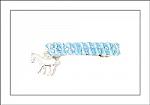 Horse Swarovski Crystal Hair Barrettes