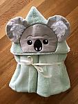Koala Hooded Towel