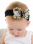 Leopard Baby Headband