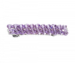 Lovely Lavender Swarovski Hair Barrettes
