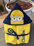 Yellow Follower Hooded Towel