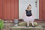 Miss Pink Poodle Tutu Costume