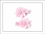 Pearl Flower Hair Clippies