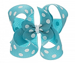 Polka Dots Big Girl Hair Bows