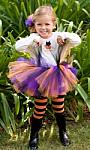 Purple, Black and Orange Tutu
