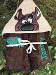 Silly Dog Hooded Towel