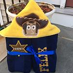 Sheriff Hooded Towel