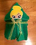 Fairy Princess Hooded Towel
