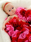 Valentine's Day Baby Heart Newborn Headbands