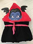 Vamp Girl Hooded Towel