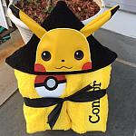 Yellow Critter Hooded Towel