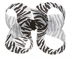 Zebra Toddler Girl Hair Bows