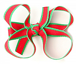 Christmas Lollipop Baby Girl Hair Bows