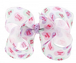 Conversation Hearts Toddler Girl Hair Bows