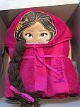 Latina Princess Hooded Towel