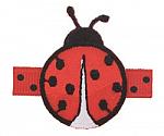 Ladybug Hair Clip