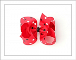 Minnie Polka Dots Big Girl Hair Bows