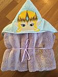 Hylian Crown Princess Hooded Towel